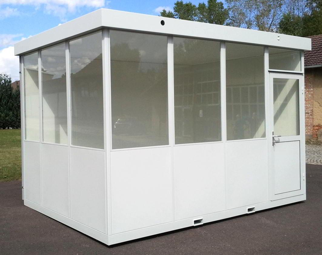 Modulare Raumsysteme und modulare Hallenbüros in bester Qualität