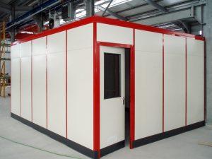 Bückeburger Raumsysteme | Flexible Trennwandsystem | modulare Hallenbüros | Klaus Wunderlich e.K.